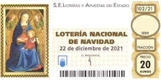 Lotería Online Doña Inés | Loteria Navidad 2021